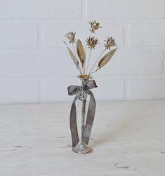 Brass Flower Bouquet