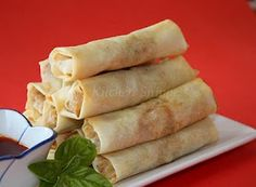 ... Winter cannot Rolls on Pinterest | Chinese spring rolls, Spring rolls