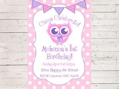 A personal favorite from my Etsy shop https://www.etsy.com/listing/507028832/cute-pink-and-gray-owl-birthday