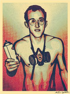 obey - keith haring