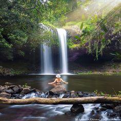 Afternoon swims Killen Falls NSW @goneoutdoors @roamtheplanet @livefolk @australia @dametraveler @passionpassport by larissadening