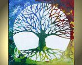 4 color tree