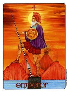 June 13 Tarot Card: The Emperor (Gill deck) Your will power is strong now -- stay focused and persistent and success can be yours