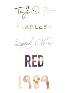Look how her fonts have changed! Beautiful!