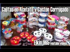 Cajitas en acetato y cartón corrugado. Link download: http://www.getlinkyoutube.com/watch?v=yWNEgvre9QE