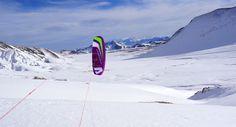 #snowkite
