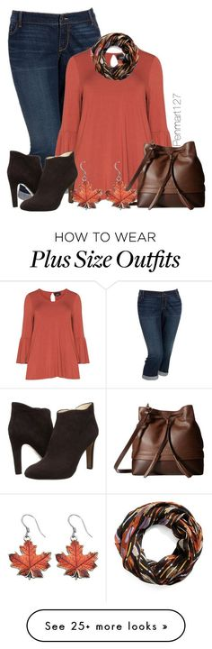"""""""#plussize"""" by penny-martin on Polyvore featuring Old Navy, Zhenzi, Nine West, Lodis and Vera Bradley"""