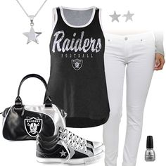Oakland Raiders All Star Outfit