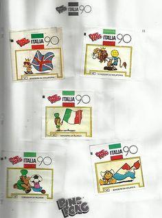 10- Álbum de Figurinhas Ping Pong - 1990