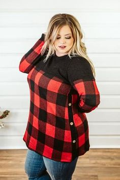 Shop the latest curvy looks you love and stay on top of women's fashion trends with our newest looks, added daily from Glitzy Girlz Plus Size Boutique! Fall Outfits, Cute Outfits, Plus Size Inspiration, Plus Size Fall Outfit, Plus Size Boutique, Winter Shirts, Just My Size, Plus Size Beauty, Plus Dresses