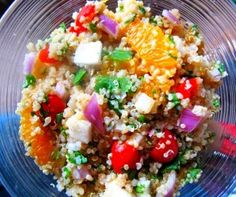 Citrus Cilantro Quinoa Salad Recipe from Whisked Foodie | Whisk up something delicious.