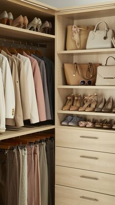 Make your closet a show stopper - only with TCS Closets