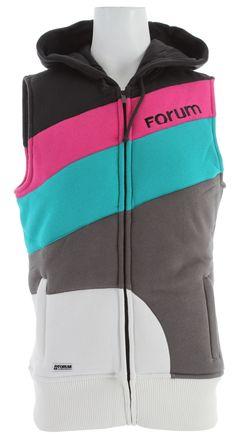 Forum Cosmo Vest Black To The Future