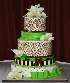 Lime Green Birthday Cake  Cakes  Pinterest  Green birthday cakes ...