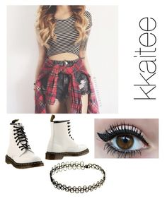 """""""Untitled #131"""" by dontbeabish ❤ liked on Polyvore featuring moda e Dr. Martens"""