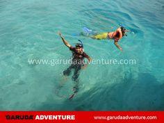 Snorkling mengasyikkan di pulau sepa