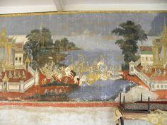 inside the Royal Palace - Phnom Penh, Cambodia