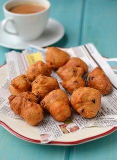 Instant Vada (using Urad dal flour) - Gluten Free, Vegan
