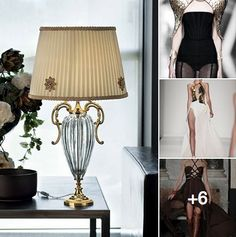 Ancient Greek attitude from the catwalks to your vacation house with Primadonna lamp.
