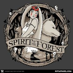 Spirit of the Forest by studiom6VlR