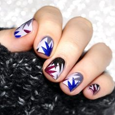 45 Easy New Years Eve Nails Designs and Ideas 2016 - Latest Fashion Trends