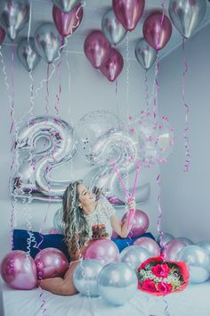 Surprise Birthday Decorations In Your Bedroom Birthday Goals, 22nd Birthday, Diy Birthday, Birthday Wishes, Birthday Parties, Surprise Birthday, Cute Birthday Pictures, Birthday Photos, Birthday Room Decorations