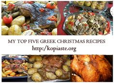 Are you looking for something different to cook for this Christmas? If so, I would like to share My Top Five Greek Christmas Recipes baked under an aluminum tent. /  Μήπως προβληματίζεστε τι θα φτιάξετε φέτος τα Χριστούγεννα; Θα ήθελα να μοιραστώ μαζί σας τις Πέντε Καλύτερες Χριστουγεννιάτικες Συνταγές μου που ψήνονται σε τέντα αλουμινίου. http://www.kopiaste.info/?p=16204 #Christmas_recipes #Greek_food #Χριστουγεννιάτικες_συνταγές#Ελληνικη_κουζίνα #εορταστικό_τραπέζι