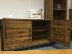 Aged Oak Sideboard with an Industrial metal frame and handles. Come and visit us in our St Ives showroom. www.cobwebsfurniture.co.uk