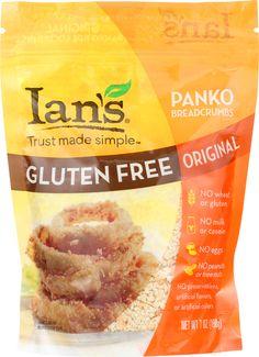 Gluten-Free Product of the Day: Ian's Gluten-Free Panko Breadcrumbs