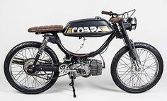 Stylish Puch Cobra our dear friend Kim is thinking of getting as her first motorcycle. We say hells yeah! What do you think?