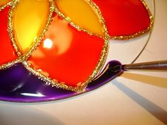 Como pintar mandalas em vidro (PAP)