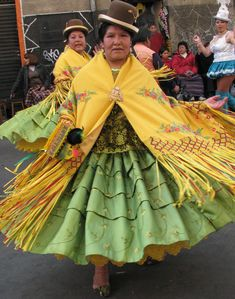 The Cholitas are a group of Bolivian women