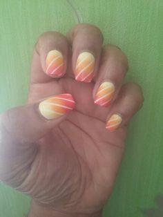 Sunny nail art !