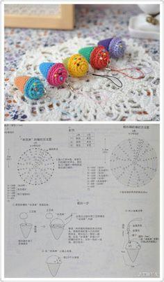 Best 11 80 Patrones para hacer zapatitos, botines y zapatillas de bebés en crochet (free patterns crochet sandals babies – Page 63472675985792403 – SkillOfKing. Crochet Fruit, Crochet Food, Love Crochet, Crochet Crafts, Crochet Dolls, Crochet Projects, Crochet Diagram, Crochet Motif, Crochet Flower Patterns