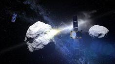 Kommt der Komet, ist es nicht zu spät - Die Menschheit bereitet sich darauf vor, einen Asteroiden aus der Bahn zu schießen. Mehr dazu hier: http://www.nachrichten.at/nachrichten/weltspiegel/Kommt-der-Komet-ist-es-nicht-zu-spaet;art17,2218210 (Bild: Illustration: ESA)