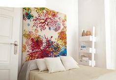 #ideasconvida Utiliza tu alfombra como cabecero y da un toque de original a tu habitación.