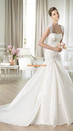 Chapel Train Square Taffeta Wedding Dresses 2014