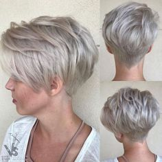 Today we have the most stylish 86 Cute Short Pixie Haircuts. We claim that you have never seen such elegant and eye-catching short hairstyles before. Pixie haircut, of course, offers a lot of options for the hair of the ladies'… Continue Reading → Short Grey Hair, Short Hair With Layers, Short Hair Cuts For Women, Gray Hair, Short Choppy Haircuts, Cute Hairstyles For Short Hair, Curly Hair Styles, Bob Hairstyles, Haircut Short