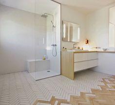 Extensive range of parquet flooring in Edinburgh, Glasgow, London. Parquet flooring delivery within the mainland UK and Worldwide. Flooring, Bathroom Inspiration, Bathroom Interior, Bathroom Furniture, Interior Design, Bathrooms Remodel, Interior, Bathroom Design, Floor Design