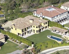 First look: Kanye West and Kim Kardashian's new mansion