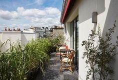 La terrasse de la suite Saint-Roch Spa Paris, Hotel Paris, Paris Hotels, Le Roch Hotel, Saint Roch, Jardin Des Tuileries, Hotel Spa, In This Moment, Outdoor Decor