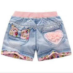 Cheap kids summer shorts, Buy Quality kids shorts directly from China shorts jeans girls Suppliers: Kindstraum 2017 Summer Kids Cartoon Shorts Brand Children Denim Shorts Fashion Cute Jeans for Lace Denim Shorts, Studded Shorts, Cotton Shorts, Jean Shorts, Short Pants Girl, Short Girls, Short Shorts, Girls 4, Baby Jeans