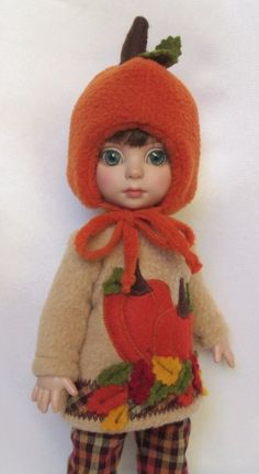 """PATSY'S PLAYFUL PUMPKIN PATCH!  FOR 10""""ANN ESTELLE, ETC.MADE BY SSDESIGNS"""