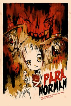 Paranorman art by Kevin Dart.