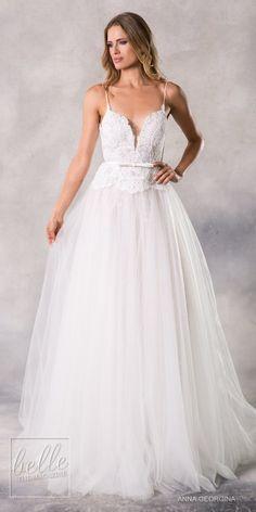 Anna Georgina 2019 Wedding Dresses Casablanca Bridal Collection - Kaylen