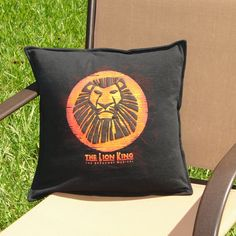 Throw Pillow Sham Cover made from The Lion by BreauxBunchQuilts, $20.00
