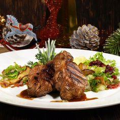 Steak z divočáka marinovaný v brusinkách « Recepty na grilování
