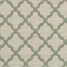 DwellStudio Casablanca Geo Fabric - Aquamarine