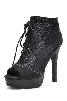 Mixx Shuz Madrid-01 Open Toe Bootie