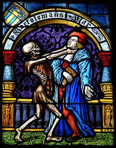Vitral da catedral de Berna / Stained glass at Bern Cathedral by Marcio Cabral de Moura, via Flickr